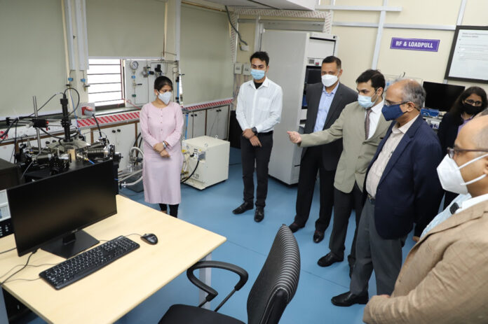 New laboratory set up for testing state-of-the-art electronic equipment